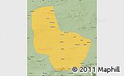 Savanna Style Map of Anxi