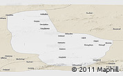Classic Style Panoramic Map of Anxi