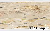 Satellite Panoramic Map of Anxi