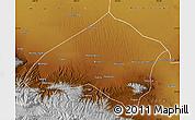 Physical Map of Gulang