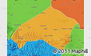 Political Map of Gulang