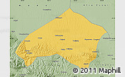 Savanna Style Map of Gulang