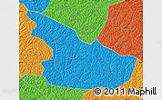 Political Map of Huachi