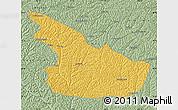 Savanna Style Map of Huachi
