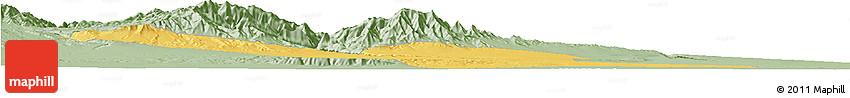 Savanna Style Horizon Map of Jiayuguan Shi