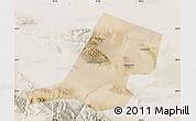 Satellite Map of Jiayuguan Shi, lighten