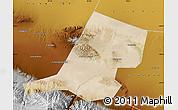 Satellite Map of Jiayuguan Shi, physical outside