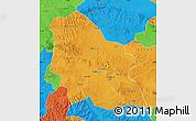 Political Map of Jingyuan