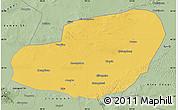 Savanna Style Map of Jinta