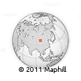 Outline Map of Jinta