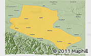 Savanna Style 3D Map of Jiuquan