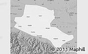 Gray Map of Jiuquan