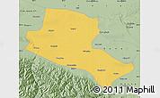 Savanna Style Map of Jiuquan