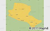 Savanna Style Map of Jiuquan, single color outside