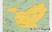 Savanna Style Map of Minqin