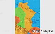 Political Map of Shandan