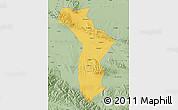 Savanna Style Map of Shandan