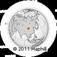 Outline Map of Shandan