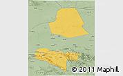Savanna Style 3D Map of Subei