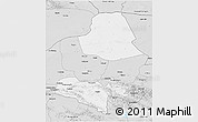 Silver Style 3D Map of Subei