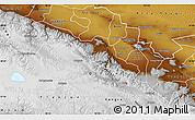 Physical Map of Sunan