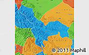 Political Map of Tianzhu