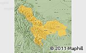 Savanna Style Map of Tianzhu