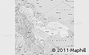 Silver Style Map of Tianzhu