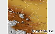 Physical Map of Yongchang