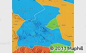 Political Map of Yongchang