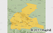 Savanna Style Map of Yongchang