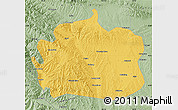 Savanna Style Map of Yongdeng