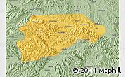 Savanna Style Map of Yongjina