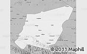 Gray Map of Yumen Shi