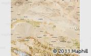 Satellite Map of Yumen Shi