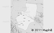 Silver Style Map of Zhangye