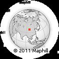 Outline Map of Zhangye