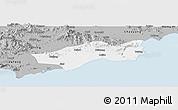 Gray Panoramic Map of Huilai