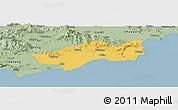 Savanna Style Panoramic Map of Huilai