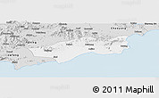 Silver Style Panoramic Map of Huilai