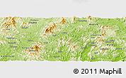 Physical Panoramic Map of Pingyuan