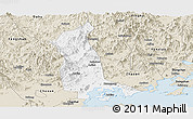 Classic Style Panoramic Map of Raoping