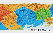 Political Panoramic Map of Raoping