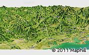 Satellite Panoramic Map of Raoping