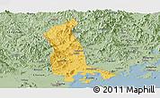 Savanna Style Panoramic Map of Raoping