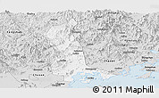 Silver Style Panoramic Map of Raoping