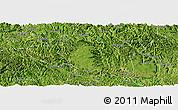 Satellite Panoramic Map of Bama