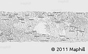 Silver Style Panoramic Map of Bama