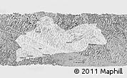 Gray Panoramic Map of Bose