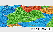 Political Panoramic Map of Bose
